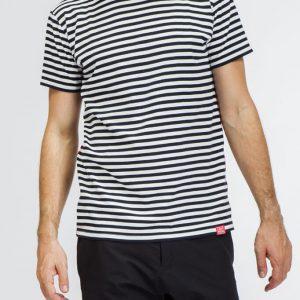 Modrobílé proužkované pánské tričko LIGHTHOUSE